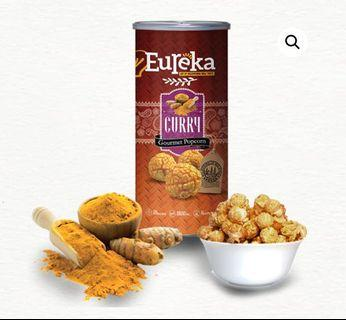 READY STOCKS | Eureka Gourmet Popcorn - Curry 70g