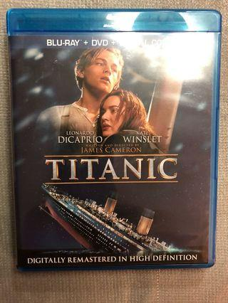 Titanic - digitally remastered Bluray