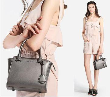 Charles and Keith Small City Bag (Pewter) #SnapEndGame
