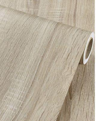 5 metres Wood Grain PVC Stickers