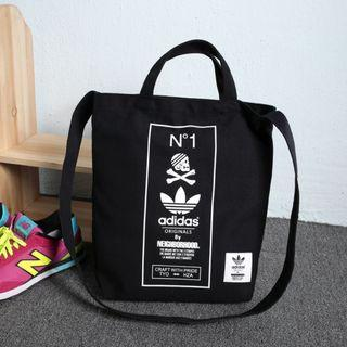 Instock ADIDAS Original by The Neigborhood Two Way Carry Sling Tote Bag (Black) PO111500183 *GWP Japanese Magazine* + FREE Post!