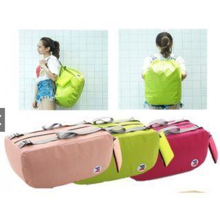 (PO) 3 Way Portable Foldable Waterproof Multi-Functional Large Capacity Luggage Bag