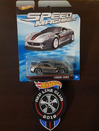 Hot Wheels Speed machine zamac Ferrari 599xx