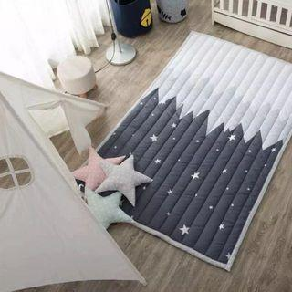 Baby Cotton Anti-Crawling Playmat (Buy One FREE one)