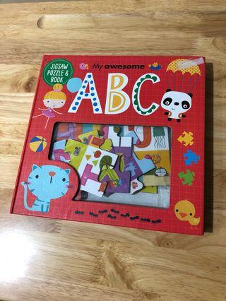 🚚 My Awesome ABC Jigsaw Puzzle Book