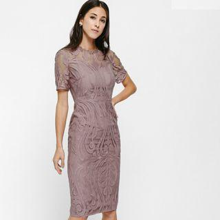 🚚 Love Bonito Maudine Lace Overlay Midi Dress #EndgameYourExcess