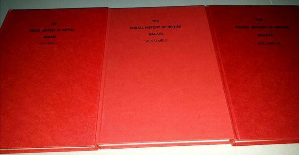 The postal history of British Malaya. All 3 volume