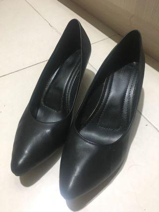 BLACK LADY PANTOFEL