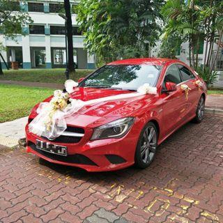 Mercedes Benz CLA Wedding Car (w/ Driver)