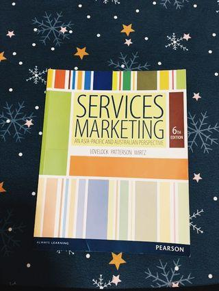 Service marketing textbook( Murdoch textbook)