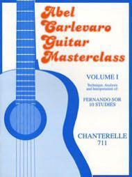 🚚 Abel Carlevaro   Guitar Masterclass Vol. 1, Fernando Sor, 10 Studies