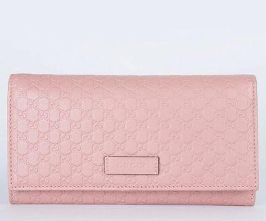 BNIB Gucci Wallet - Black/Pink