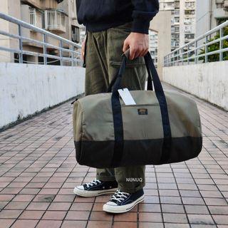 Carhartt WIP Military Duffle Bag 行李包 行李袋 軍事 金標 黃銅色 軍綠 背包 手提袋