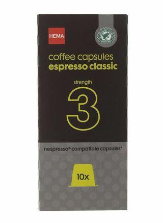 Hema Coffee Capsules