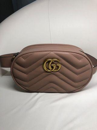 Authentic Gucci Marmont Belt Bag