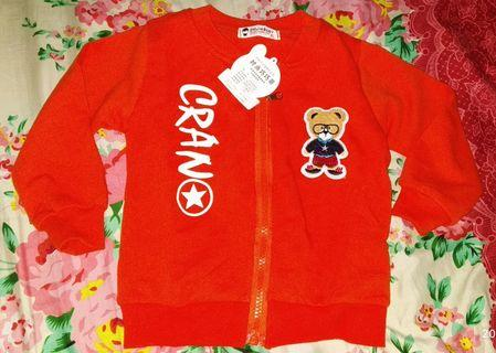 Jaket Import warna orange