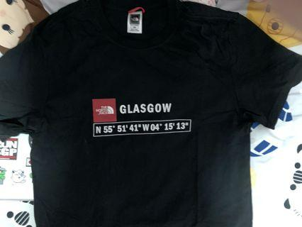 *BRAND NEW NOT USED* THE NORTH FACE GLASGOW EDITION T SHIRT