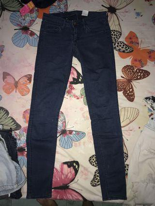 H&m super skinny and low waist Jeans