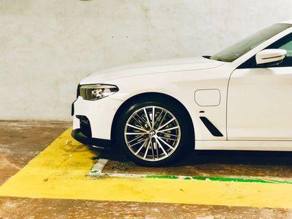 Bmw g30 530e 530i 19 inch wheels V-spoke style 635 light-alloy sport rims