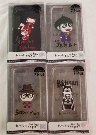 全新正版 iPhone 7 plus case 手機套 小丑女 Harley Quinn 自殺特攻隊 justice league q posket cosbaby 蝙蝠俠 超人 superman b wing joker 小丑女