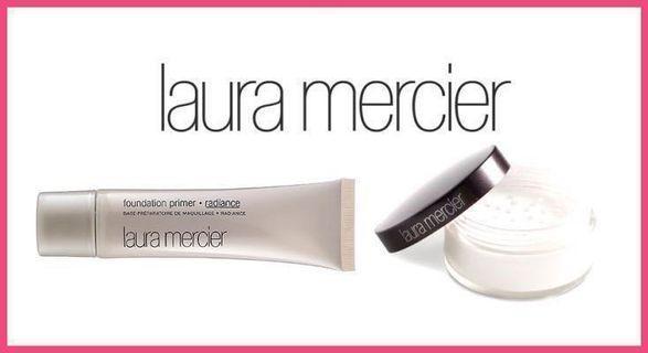 套裝預訂優惠!全新 Laura Mercier Foundation Primer 50ml + Loose Setting Powder 29g 套裝