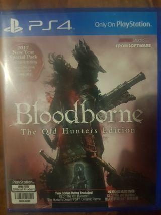 Bloodborne old hunters editions PS4