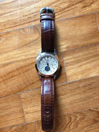 Preowned CYMA moon phase watch