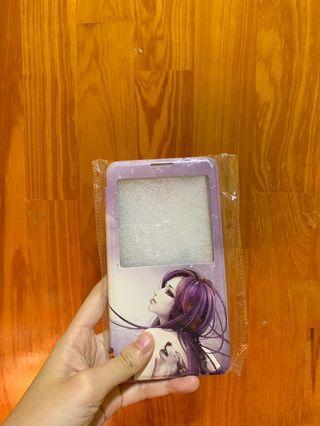 Samsung Note 3 Purple Flip Case