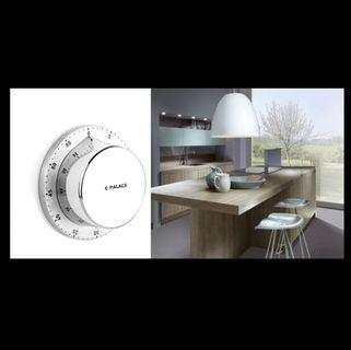 Fully Automatic Modern Looking Stainless Steel Timer with Magnet