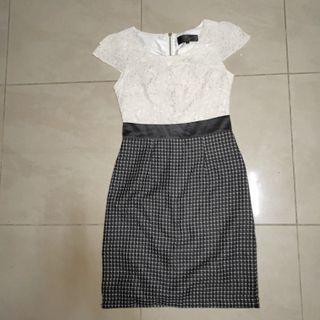 Little match girl Lace Midi Dress #EndgameYourExcess