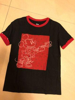 🚚 Disney X Coach black with sequence T shirt