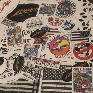 brandy melville stickers & postcards