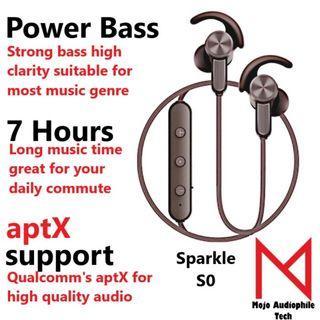 MAT Tangmai S0 High Fidelity Noise Canceling Bluetooth Headphones Wireless Earphone with Mic Bluetooth 4.1 Earphones