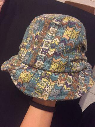 🚚 韓國製 軟綿圖騰造型漁夫帽