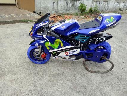 Motor mini GP 50cc Rossi