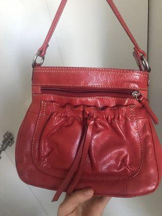 Fossil Red Crossbody bag