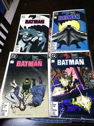 Batman Year One Complete #1-4