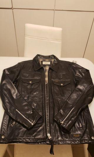 Neighborhood leather jacket size m