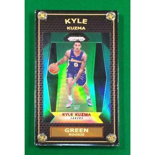 Hot 2017-18 Kyle Kuzma Rookie Rare Green Prizm NBA Card