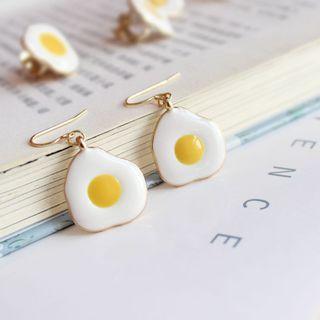 Cute Sunny Side Up Drop Earring (PRE-ORDER)