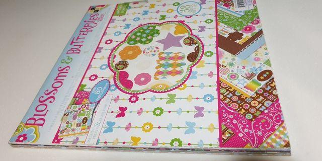 Scrapbooking Set / Paper cardstock - various designs