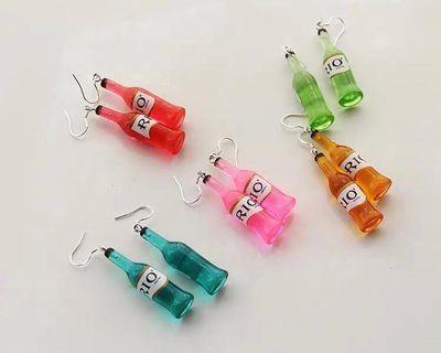 Alcohol earrings