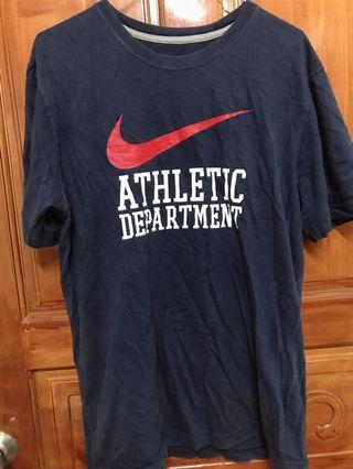 🚚 Nike 大勾 深藍t