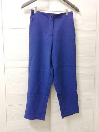🚚 藏藍色上班族AB褲