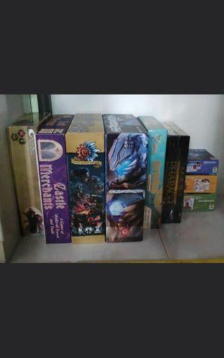 Auction: Board Games and Card Games