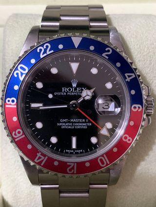 Rolex 16710 Pepsi stick dial
