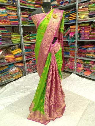Palathon silk saree