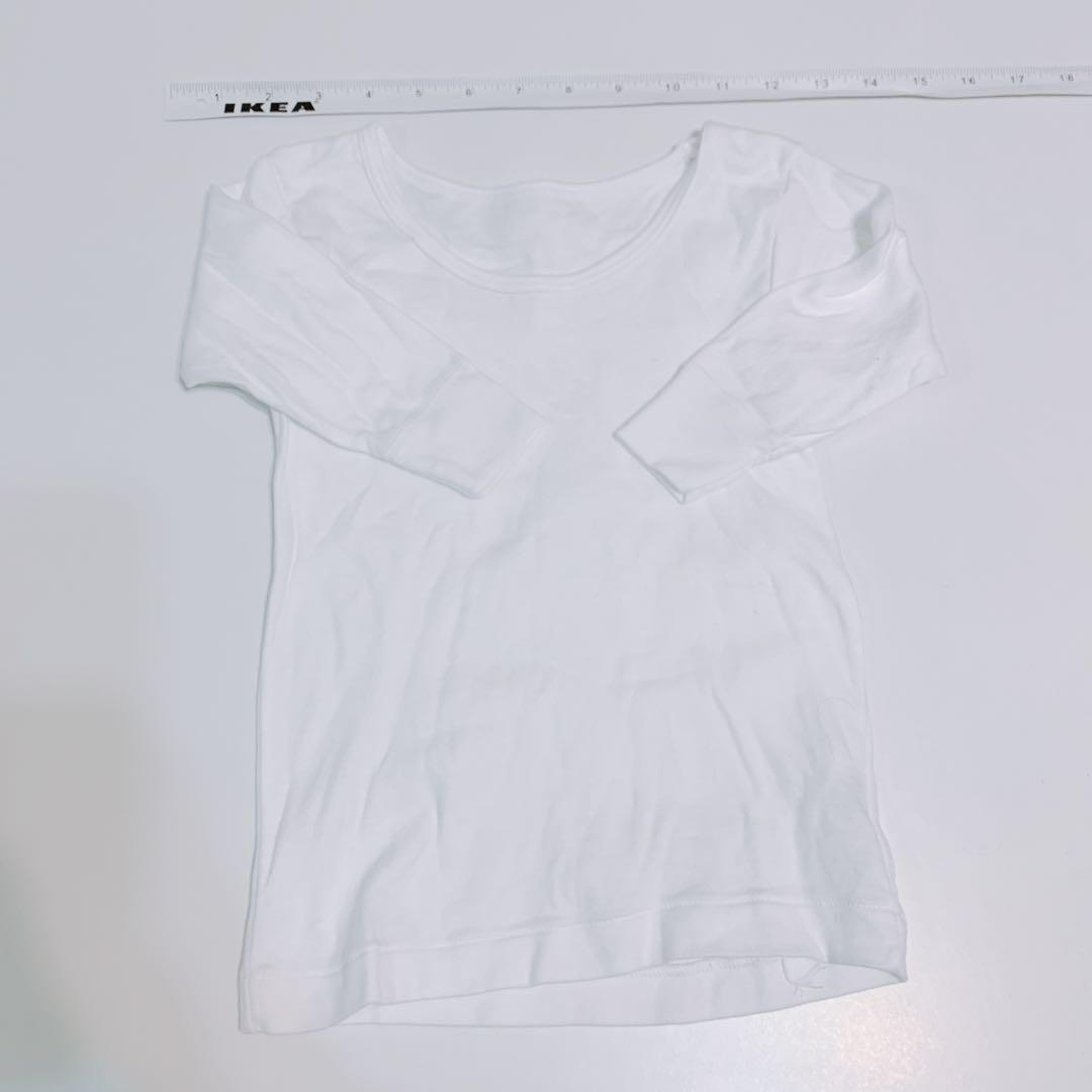 4件 Boy white T-shirt kids 底衫 白 色 kids girl