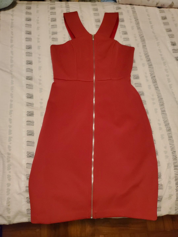 [女裝]桃紅色晚裝裙 Shocking Pink Dress
