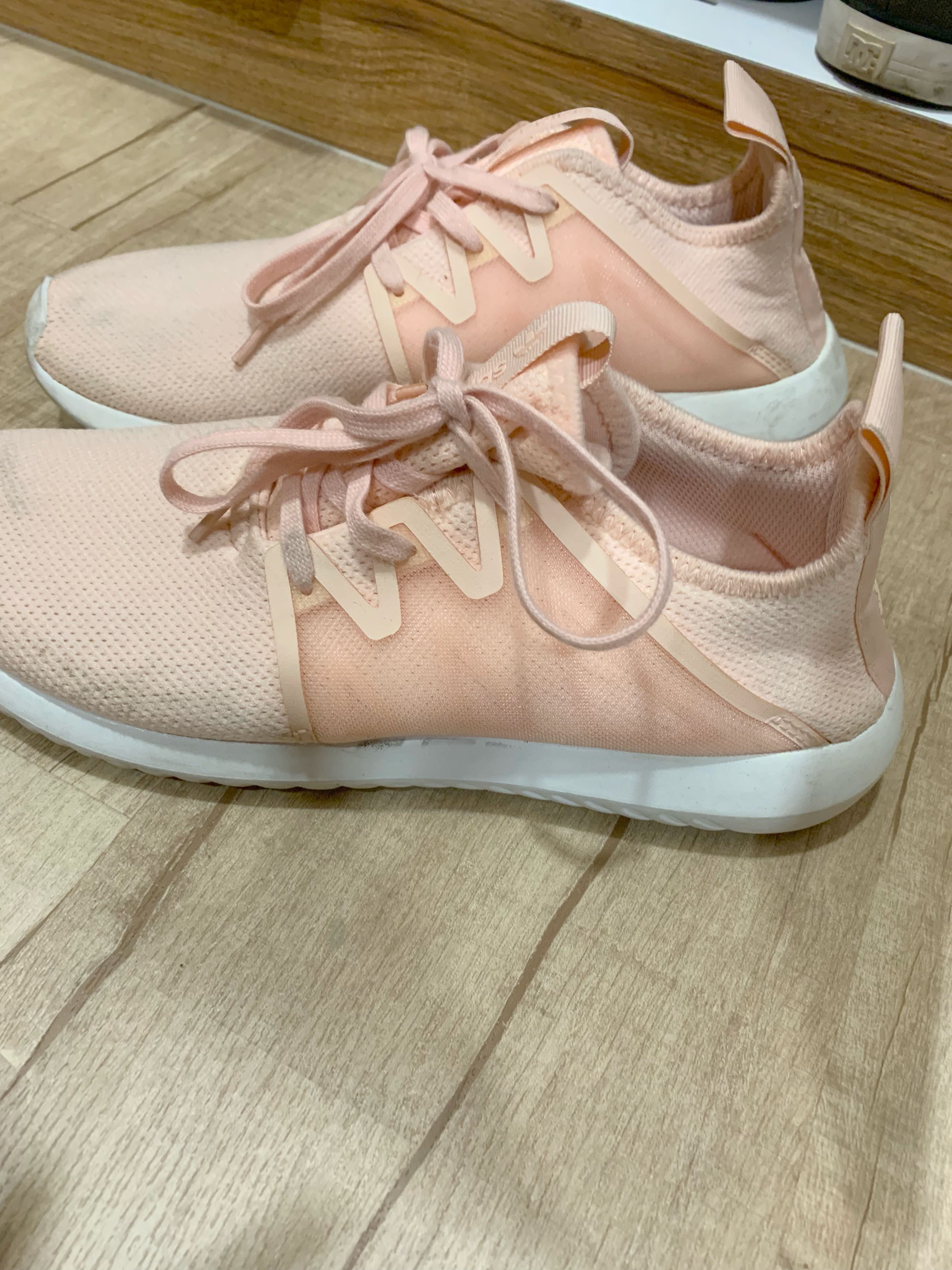 hot sale online ea66d b84d2 Addidas TUBULAR VIRAL 2 Womens Baby pink, Women s Fashion, Shoes, Sneakers  on Carousell